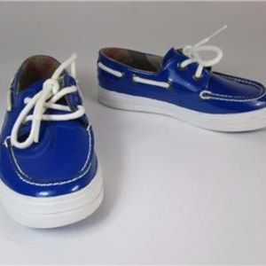 BURBERRY (4 - 7 Yrs): Blue, Leather, Sneakers